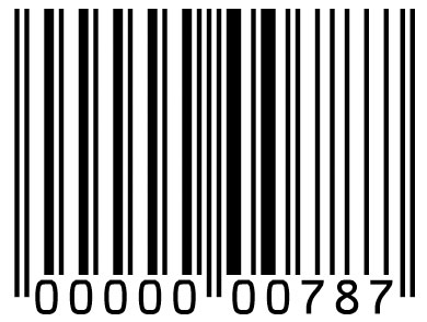 every barcode screensho